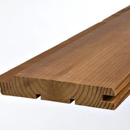 Lambriu Pin Thermo Trapez UTV 1.9 cm x 11.7 cm x 5.1 ml imagine